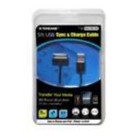 Xtreme 59901 Sync and Charge Cable - Retail Packaging - Black